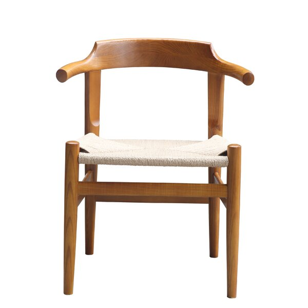 Stringta Solid Wood Dining Chair by Fine Mod Imports