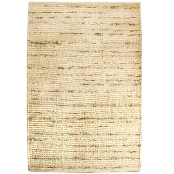 Emrys Berber Hand-Woven Ivory Area Rug by Millwood Pines