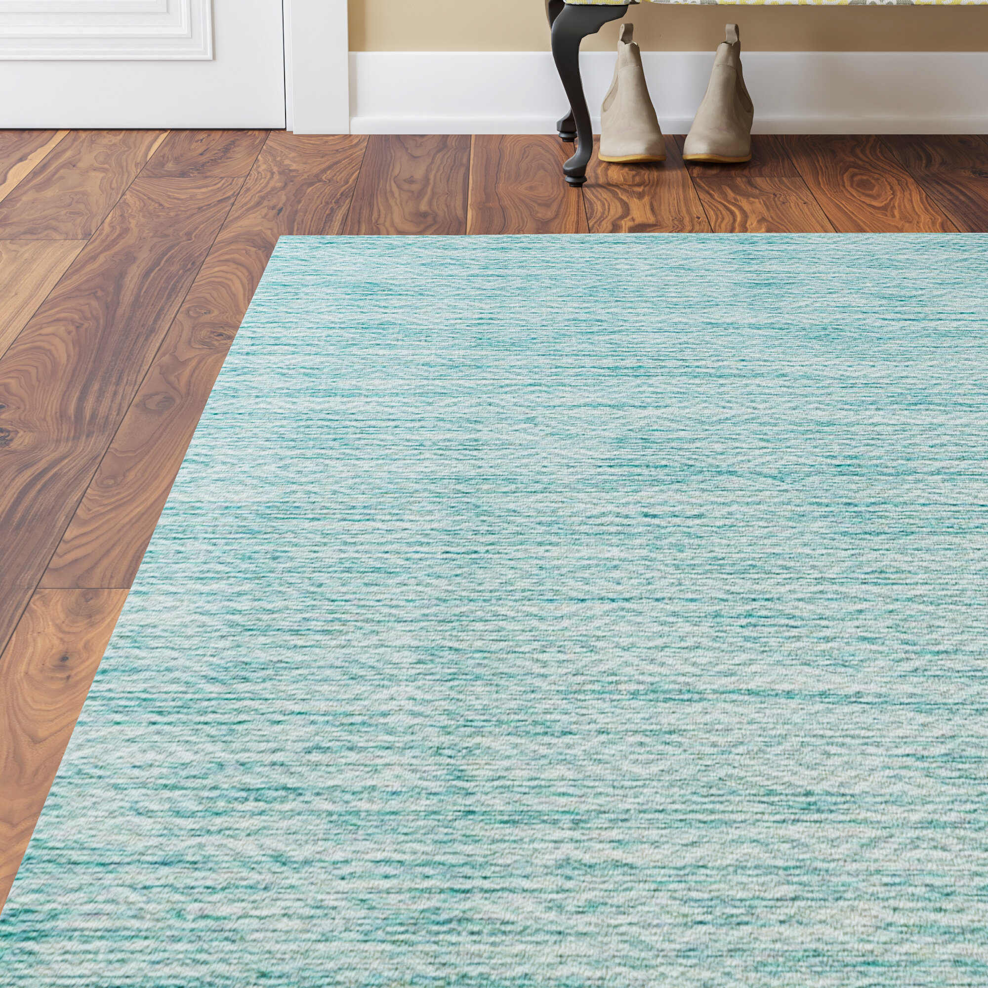 rug aqua safavieh blue milan area ft shag p rugs x