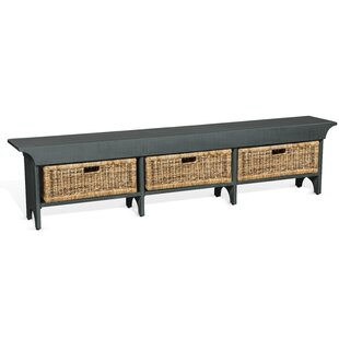 Andrew Solid Wood Storage Bench