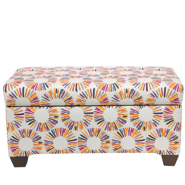 Highsmith Linen Upholstered Storage Bench by Brayden Studio