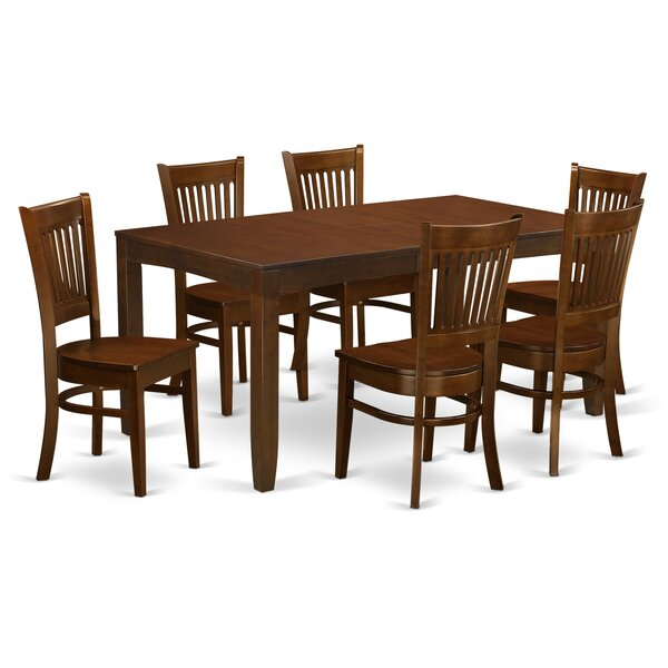 Best Choices Lynfield 7 Piece Dining Set By East West Furniture Coupon