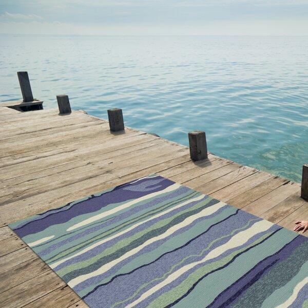 Weybridge Handmade Blue Indoor/Outdoor Area Rug by Beachcrest Home