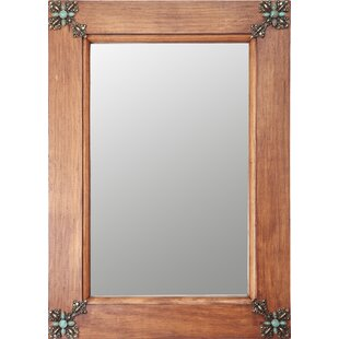 My Amigos Imports Concho Cross Rustic Accent Mirror