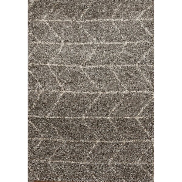 Tefft Gray/Ivory Area Rug by Brayden Studio