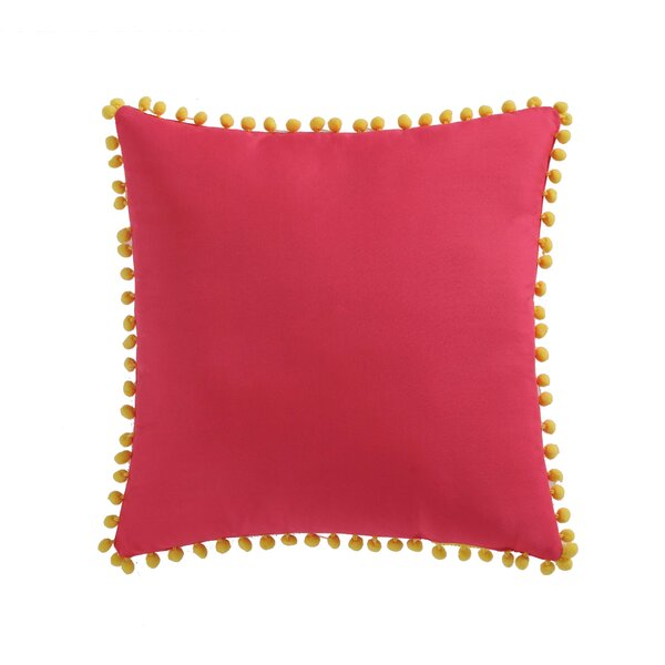 Jaimie Pom Pom Decorative Throw Pillow by Zoomie Kids