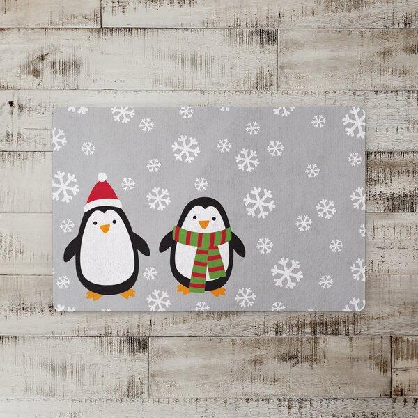 Biller Snowy Penguins Kitchen Mat