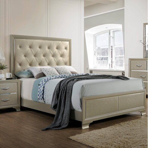 Braysham Upholstered Standard Bed by Rosdorf Park
