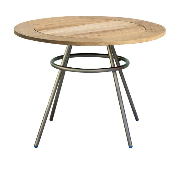 Delancey Comet Teak Side Table by OASIQ