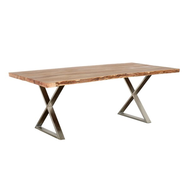 Emblyn Solid Wood Dining Table by Union Rustic