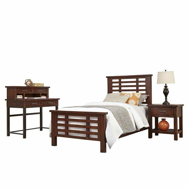Rockvale Twin Slat 4 Piece Bedroom Set by Loon Peak