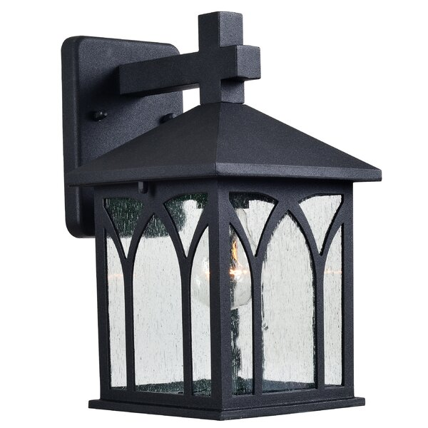 Talmadge 1-Light Outdoor Wall Lantern by Wildon Home ®
