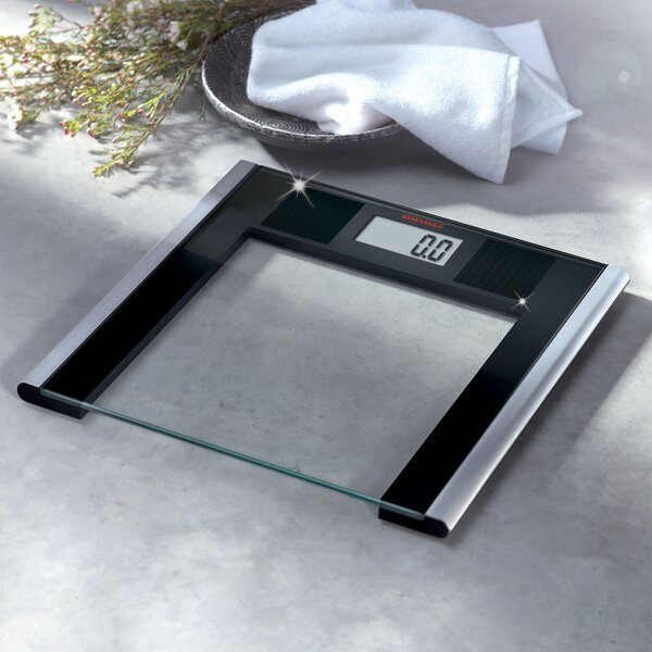 Solar Sense Precision Digital Bathroom Scale by Soehnle