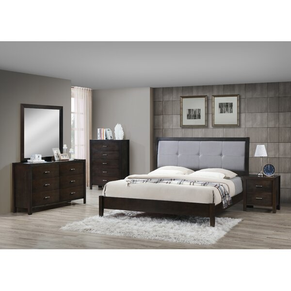 Vanalstyne Panel 5 Piece Bedroom Set by Latitude Run