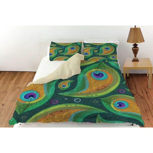 Martha Peacock Duvet Cover Collection