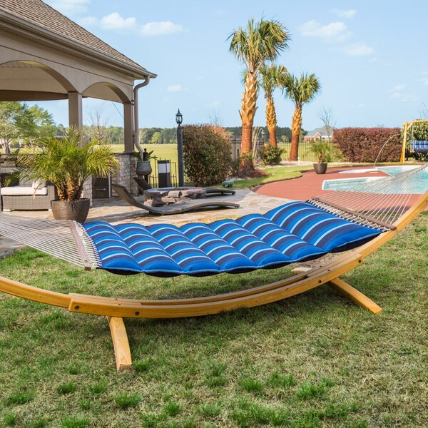 Gloria Pillowtop Sunbrella Tree Hammock By Freeport Park