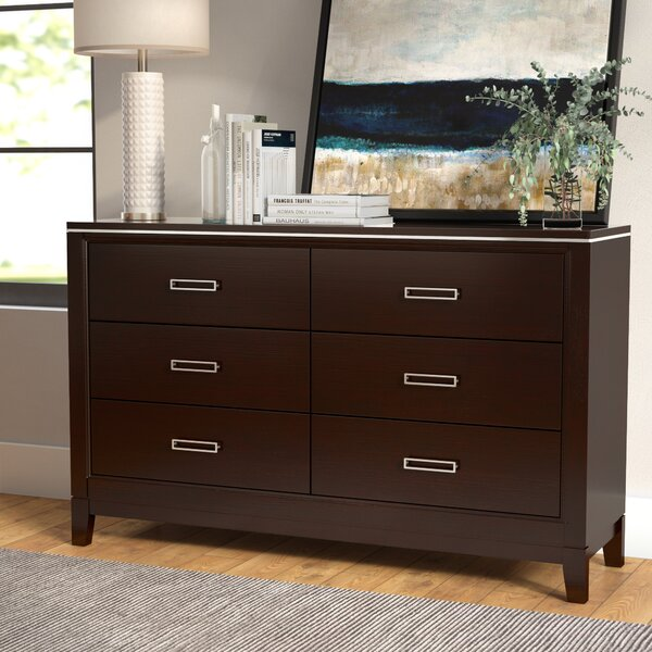 Lonny 6 Drawer Double Dresser by Latitude Run