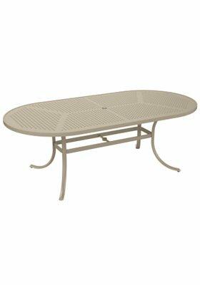 Boulevard Metal Dining Table by Tropitone Tropitone