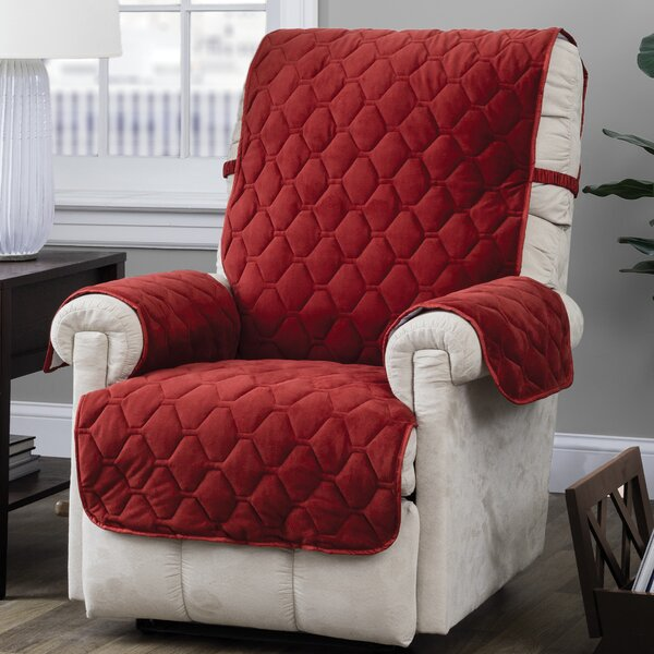 Quilt Stitch with Straps T-Cushion Recliner Slipco