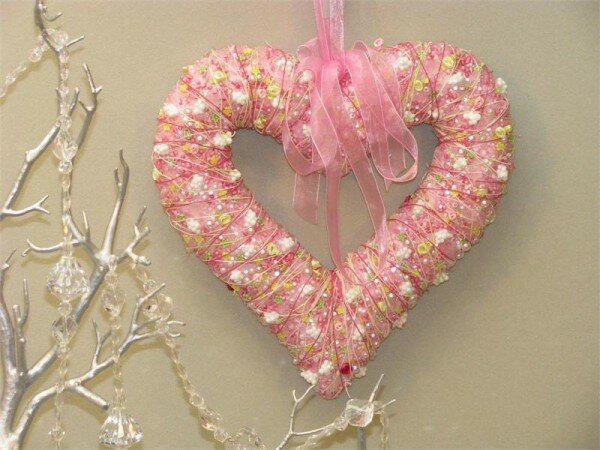 Heart 11 Wreath by AA Floral Designs