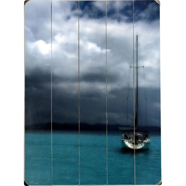 Stormy Sails Drawing Print Multi-Piece Image on Wood by Artehouse LLC