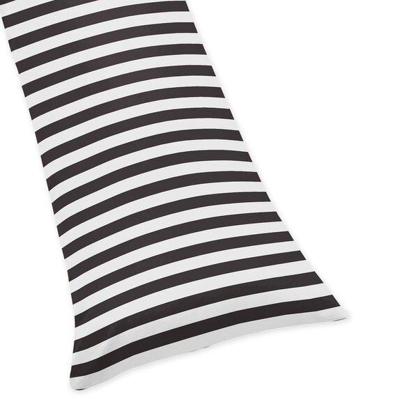 Paris Stripe Body Pillow Case by Sweet Jojo Designs