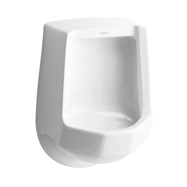 Freshman Siphon-Jet Wall-Mount 1 GPF Urinal with Rear Spud by Kohler