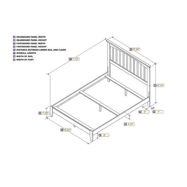 Abingt Standard Bed by Winston Porter