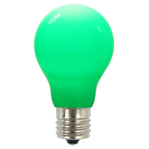 12W Green E26 LED Light Bulb by Vickerman