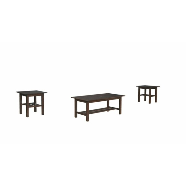 Cribb 3 Piece Coffee Table Set By Darby Home Co