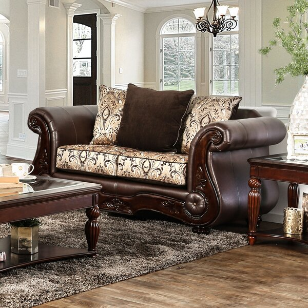 Dolliver Traditional Loveseat by Astoria Grand