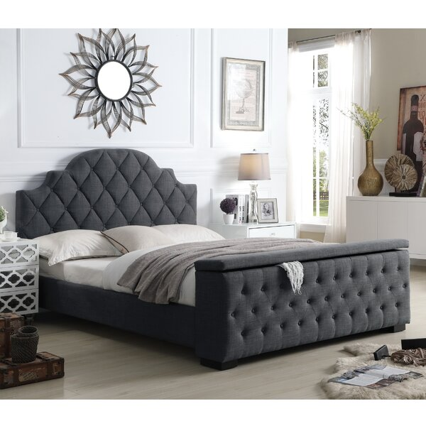 Everly Quinn Norfleet Tufted Upholstered Storage Platform Bed & Reviews by Everly Quinn
