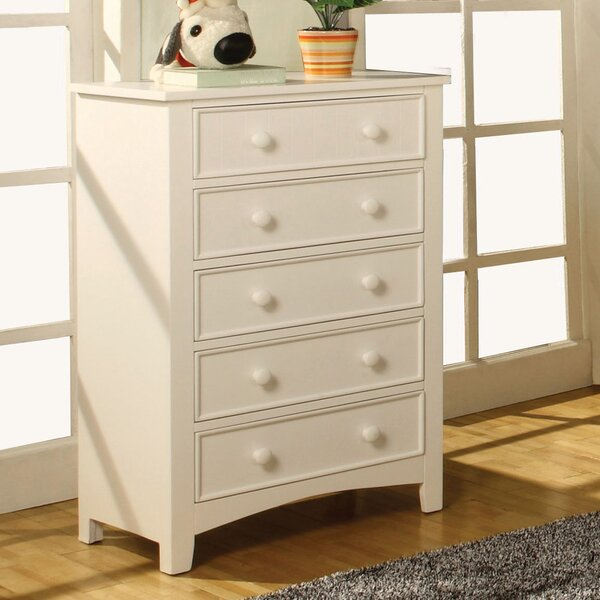 Alyssa 5 Drawer Chest by Hokku Designs