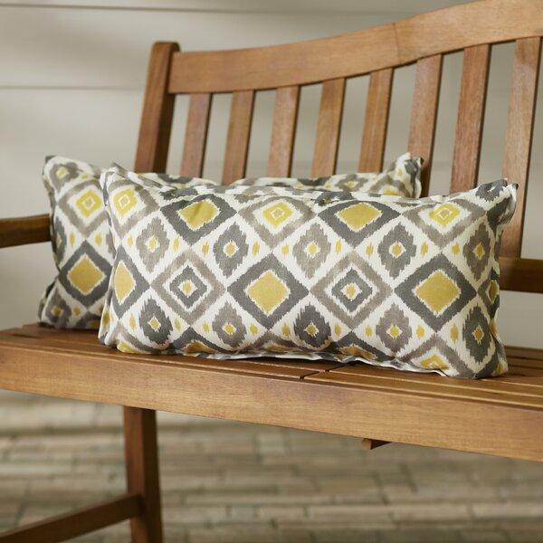 Socoma Outdoor Lumbar Pillow (Set of 2) by Bungalow Rose