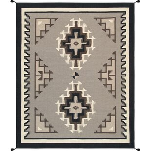 Reviews Kilim Hand-Woven Wool Brown/Black Area Rug By Pasargad