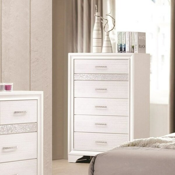 Tina 5 Drawers Lingerie Chest by Rosdorf Park