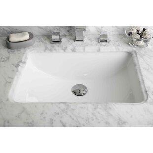 Guide to buy Ceramic Rectangular Undermount Bathroom Sink with Overflow ByRoyal Purple Bath Kitchen