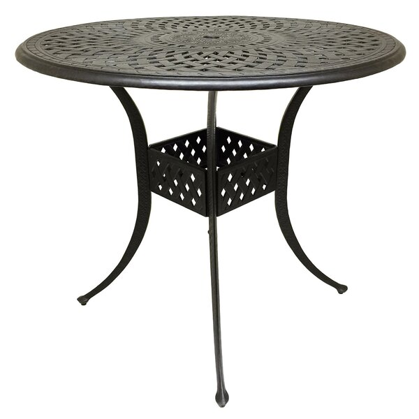 Campion Cast Aluminum Bar Table by Fleur De Lis Living