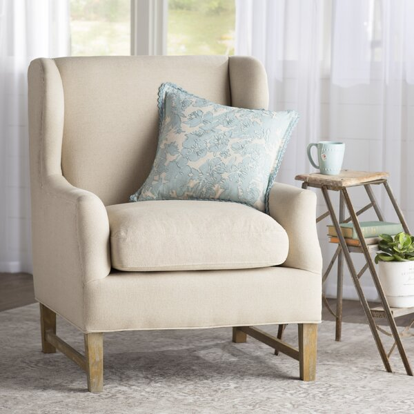 Meriem Wing back chair by Lark Manor