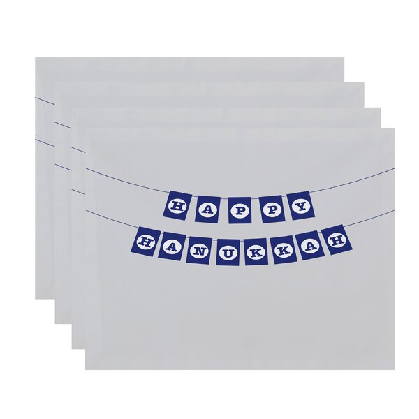 Banner Day Placemat (Set of 4) by The Holiday Aisle