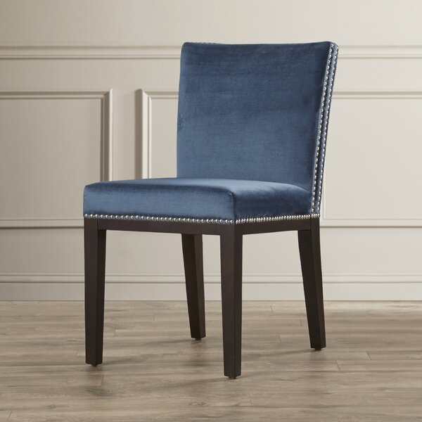 Derwin Upholstered Dining Chair (Set of 2) by Willa Arlo Interiors Willa Arlo Interiors