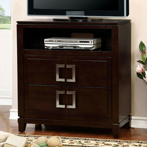 Free S&H Barclay Media 2 Drawer Chest
