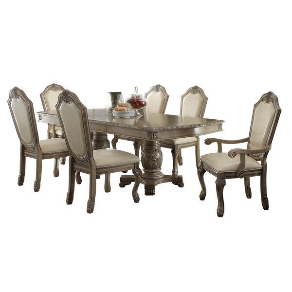 Caudillo 7 Piece Extendable Dining Set by Astoria Grand