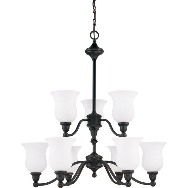 Mose 9-Light Shaded Chandelier by Canora Grey