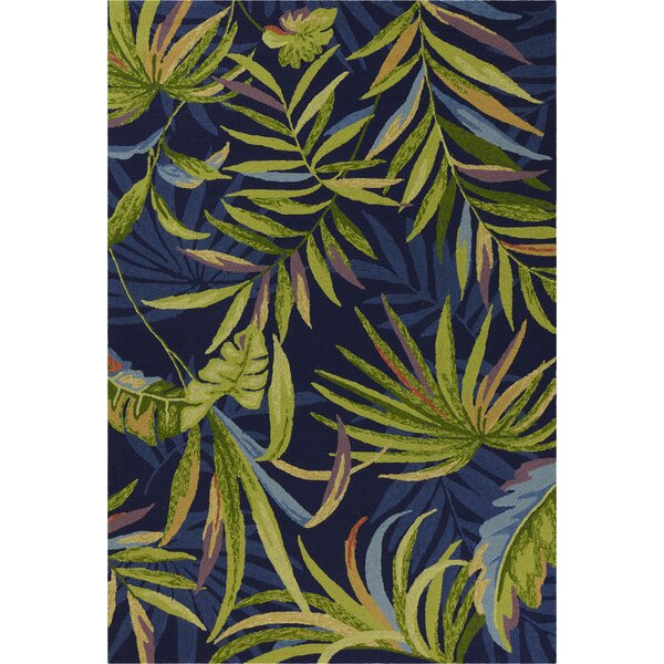 Stromberg Hand-Woven Blue/Green Indoor/Outdoor Area Rug by Bay Isle Home