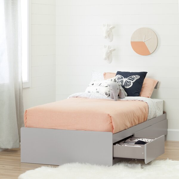 Cookie Twin Size Mates and Captains Bed with Drawers by South Shore