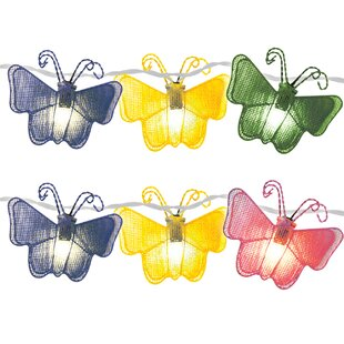 Bargain 10-Light 11 ft. Butterfly String Lights (Set of 2) By Brite Star