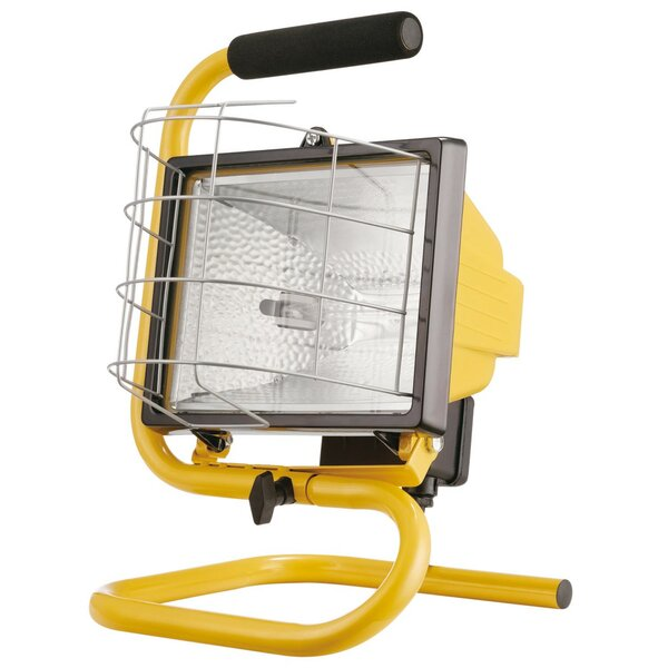 500W Portable Halogen Work Light by Globe Electric Company