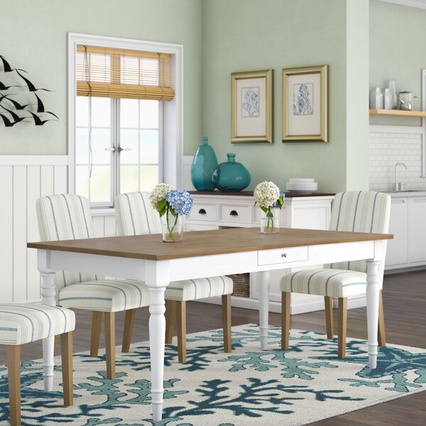 Cleveland Dining Table by Beachcrest Home Beachcrest Home