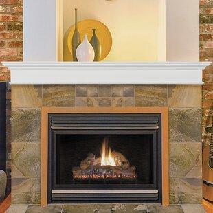 60 inch fireplace mantel wayfair rh wayfair com breckenridge 60-inch wood fireplace mantel shelf